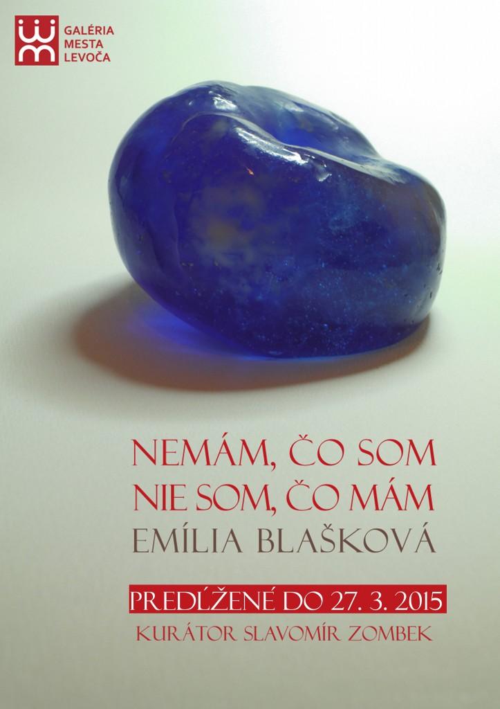 Predlženie výstavy NEMÁM, ČO SOM NIE SOM, ČO MÁM - Emília Blašková 27.3.2015
